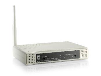 gambar LEVELONE-Wireless-N-ADSL2-Modem-Router-WBR-6603