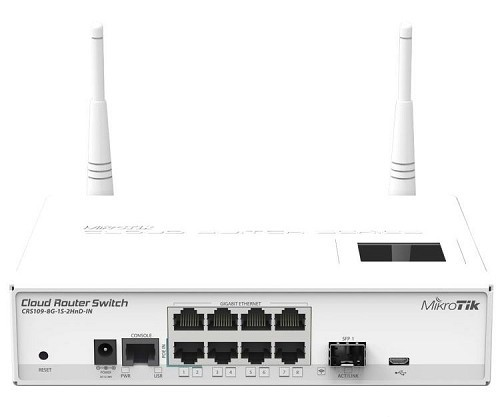 gamb ar MIKROTIK-Router-Board-CRS109-8G-1S-2HnD-IN