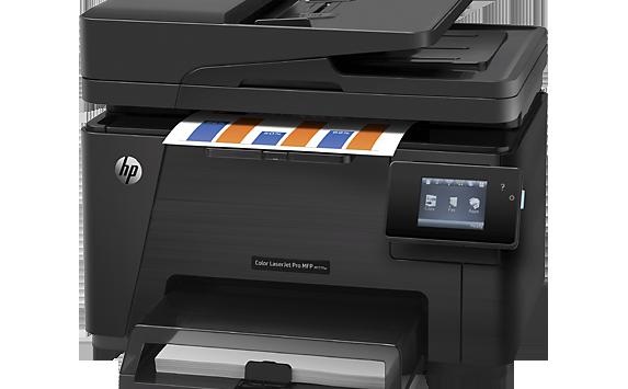 Hp Color Laserjet Pro Mfp M177fw Cz165a