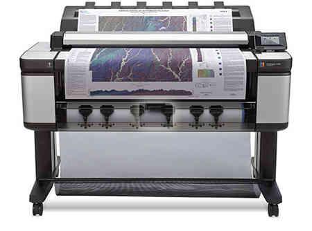 gambar HP DesignJet T3500 Production Multifunction Printer
