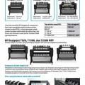 gambar Hp Designjet T920, T1500 e-printer dan T2500 e-MFP Printer