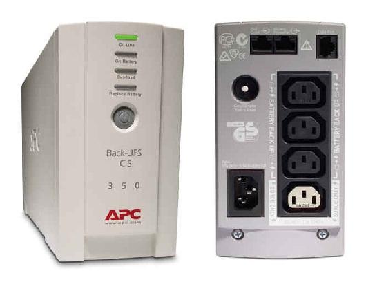 UPS APC Back-UPS BK350EI – Spesifikasi & Harga